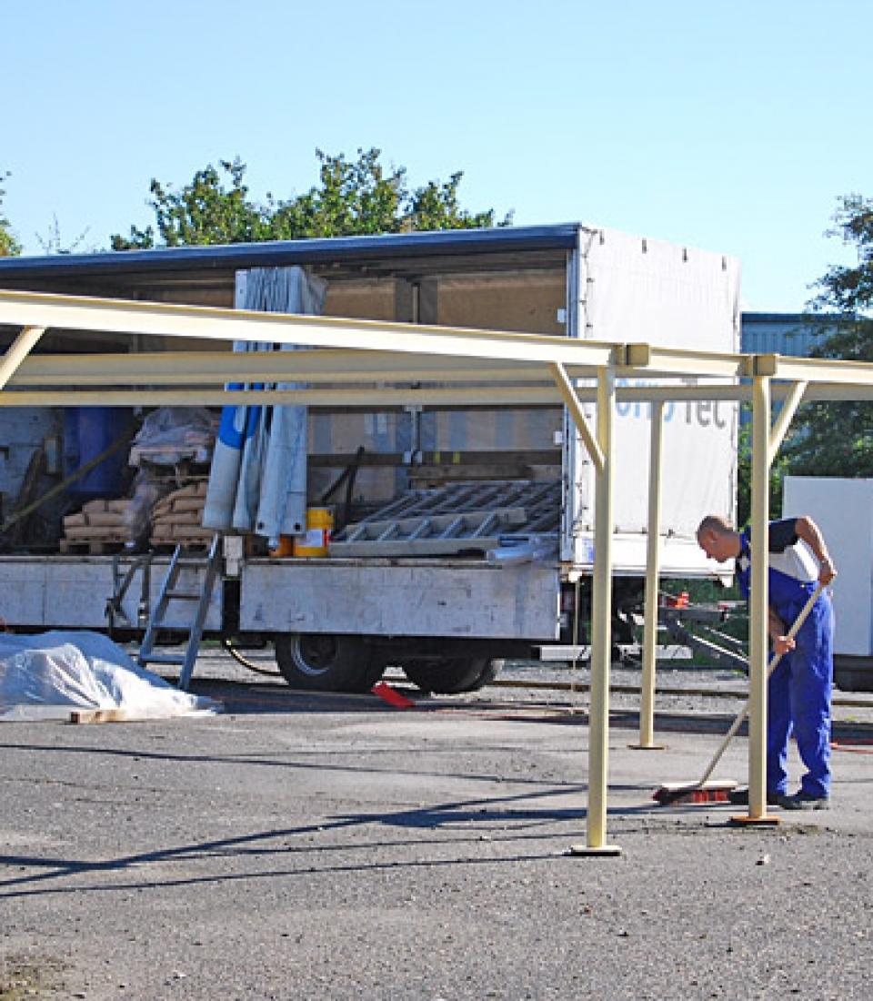 KorroTec Industrielackierung in Ennigerloh – Mobiler Korrosionsschutz