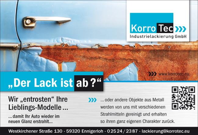 KorroTec Industrielackierung in Ennigerloh – Privatkundschaft der Lack ist ab
