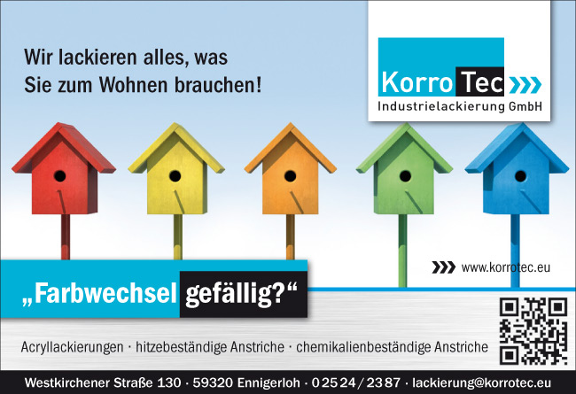 KorroTec Industrielackierung in Ennigerloh – Privatkundschaft Farbwechsel