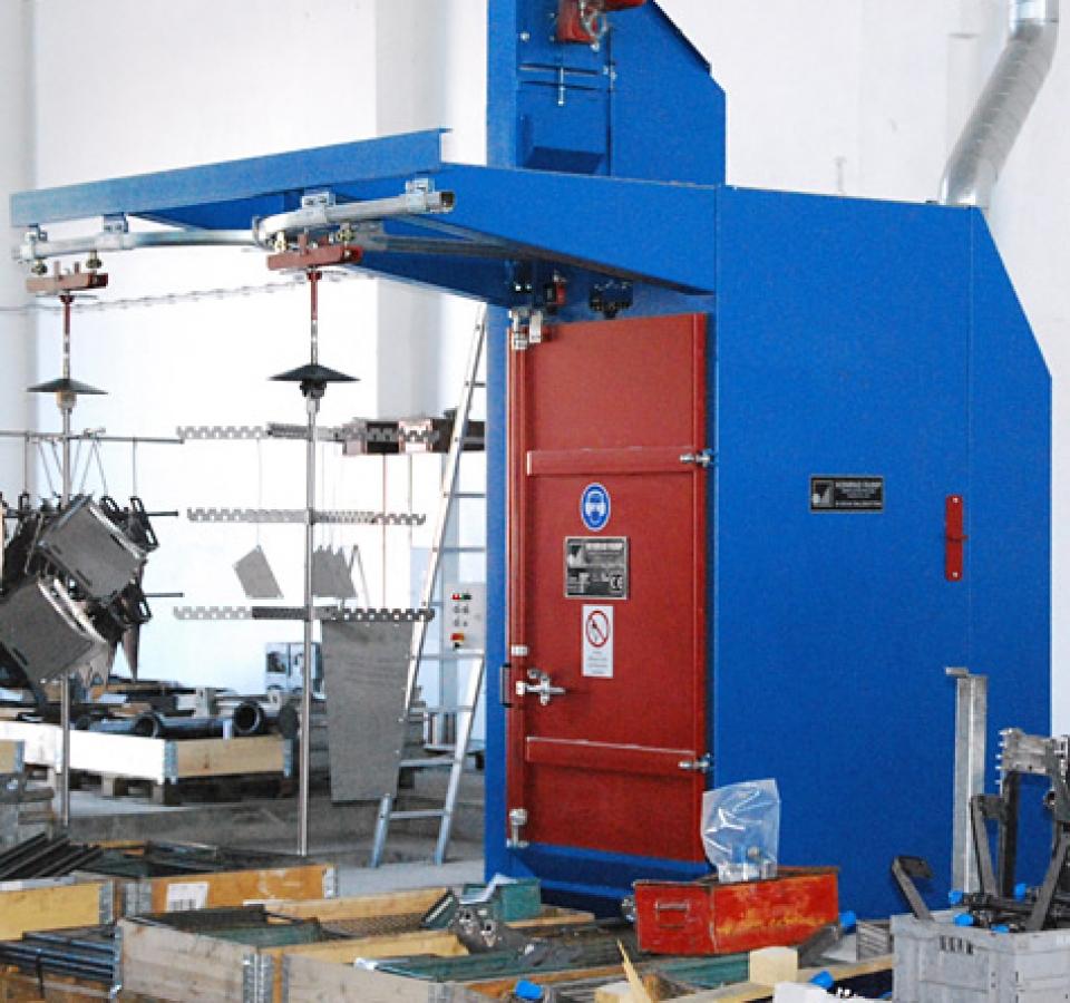 KorroTec Industrielackierung in Ennigerloh – Strahlen und Vorbehandeln
